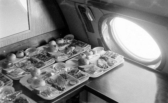 Kā biznesa klase izskatījās padomju laika lidmašīnās