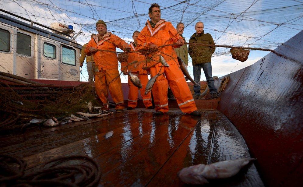 работа на путине рыбак