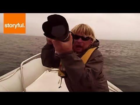 Kad laivā ielec zilais valis!...