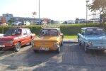 ФОТО: Выставка советских автомобилей около Мотормузея в Межциемсе
