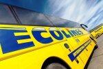 """ВИДЕО: Содержимое туалета в автобусе Ecolines """"улетает"""" на проезжую часть"""