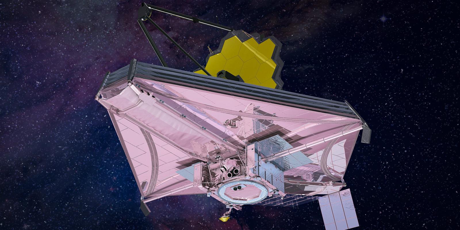 Zeltā klātais Visuma pētnieks sola ieskatu ļoti tālā pagātnē