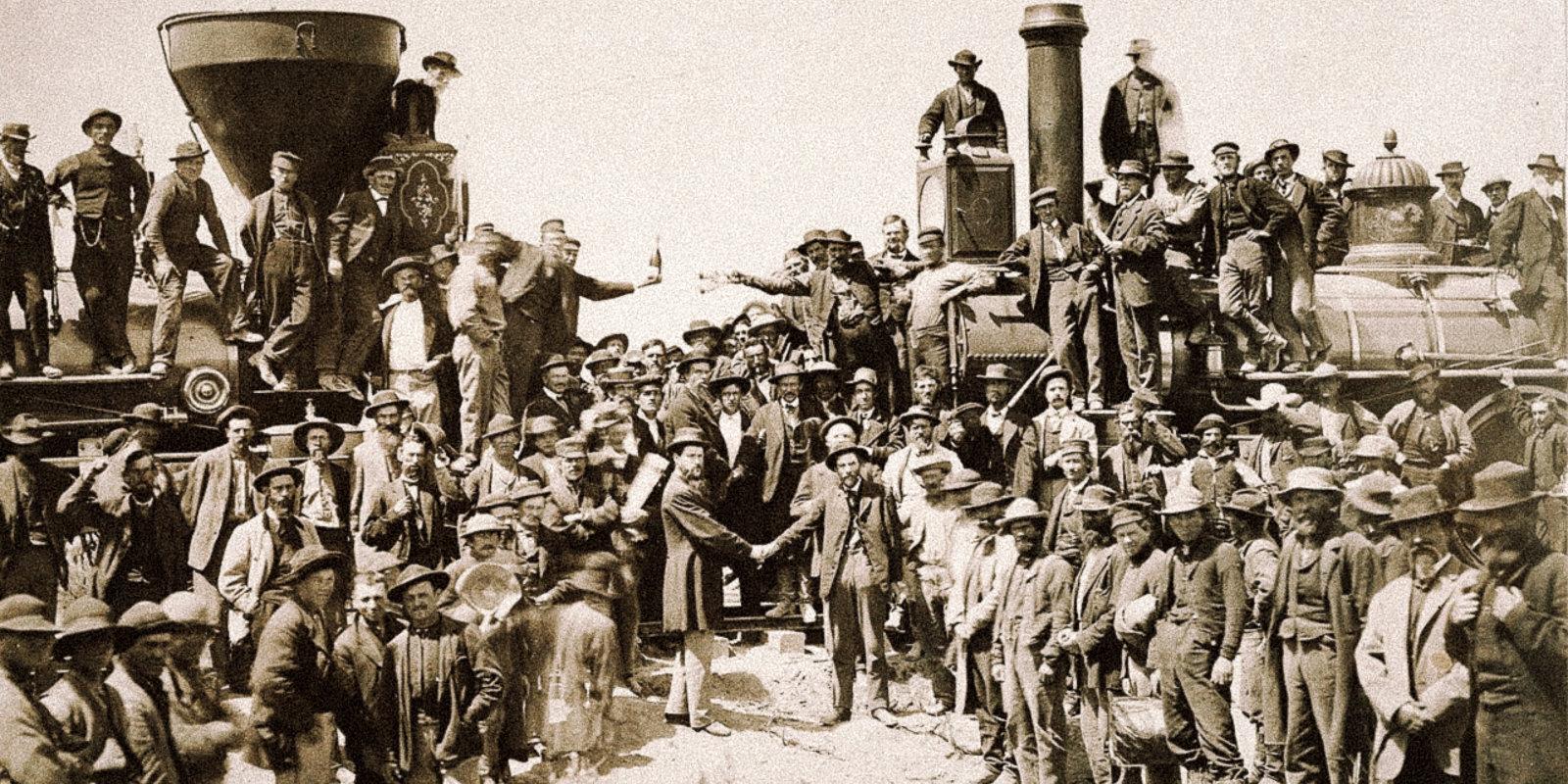 Imigrants no Rīgas 19. gadsimtā apģērbj mežonīgo Rietumu darbaļaudis