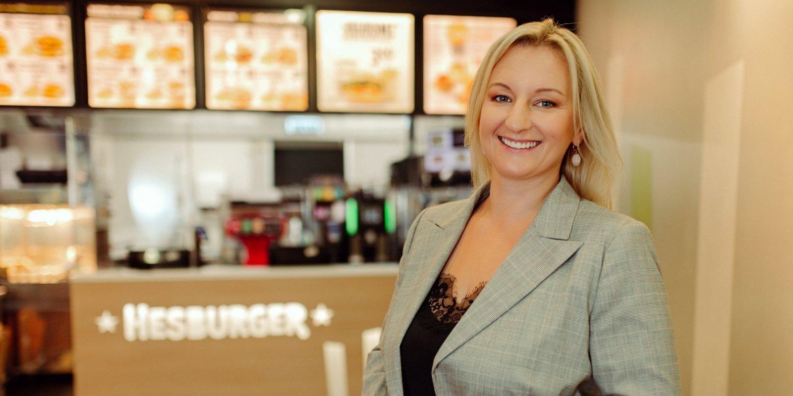 Personība biznesā: 'Hesburger' starptautiskā biznesa attīstības direktore Ieva Salmela