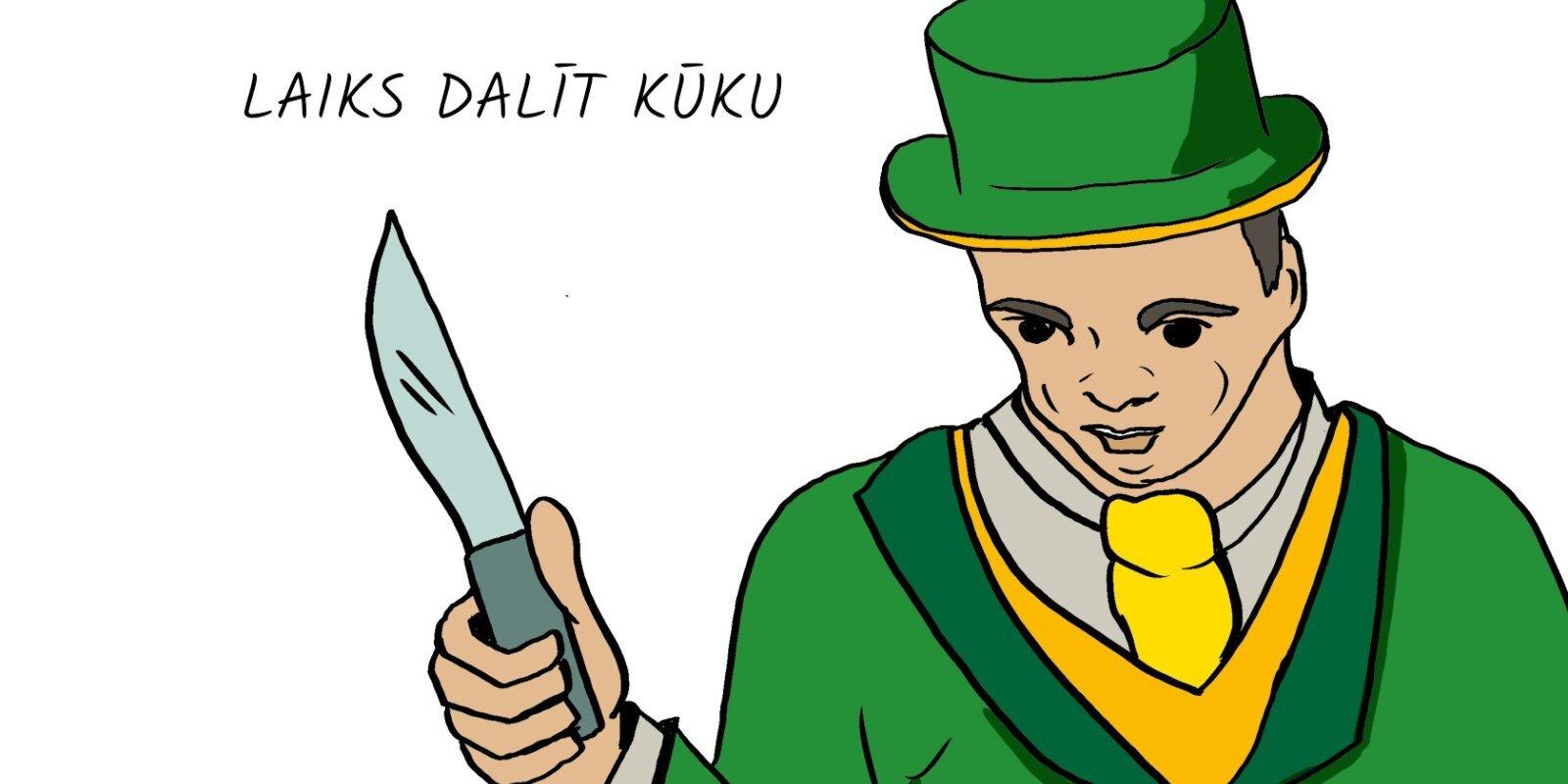 'Delfi Bizness' komikss: Kūka savējiem un svešajiem