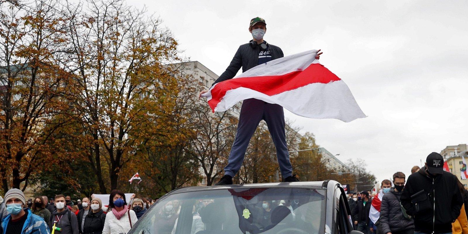'Tautas ultimāta' termiņš beidzies: Baltkrievijā sākas strādnieku protesti