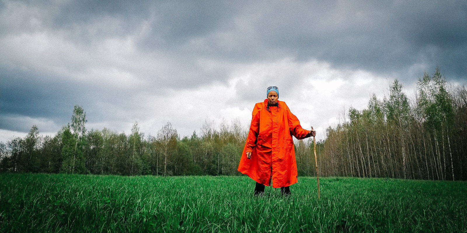 Обойти пешком всю Латвию: история Агнесе Калныни