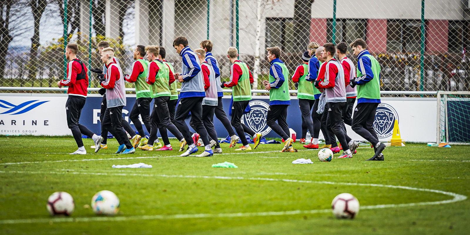 Covid-19 futbolā: LFF skaidro situāciju par saslimušajiem, kontaktpersonām un U-21 izlasi