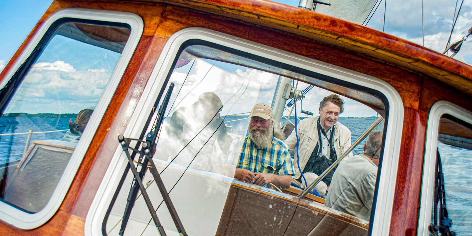 No lidmašīnām uz kuģiem. Kapteinis Andris Struckis par burāšanu Latgales jūrā