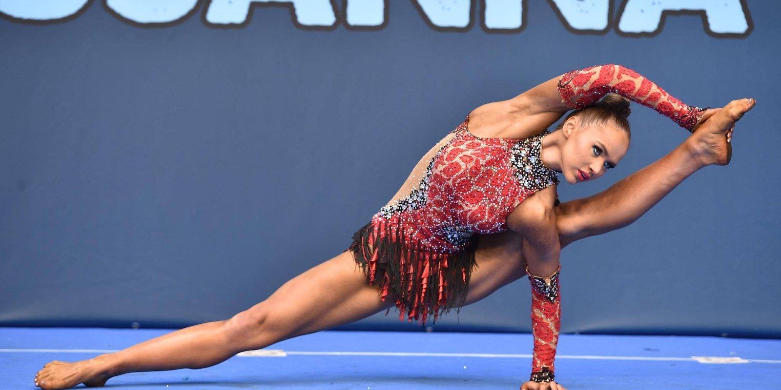 Absolūtā Eiropas čempione fitnesā Vanesa Belova: 'Galvenais ir nepadoties. Nekad.'