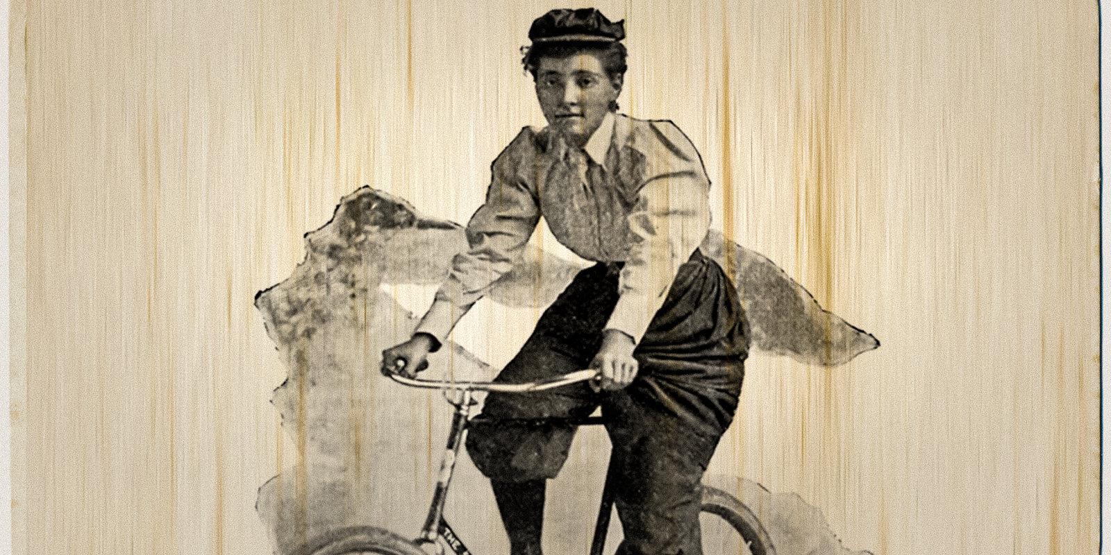 Anna Kopčovska – apsviedīgā rīdziniece, kura pirms 125 gadiem ar divriteni apceļoja pasauli