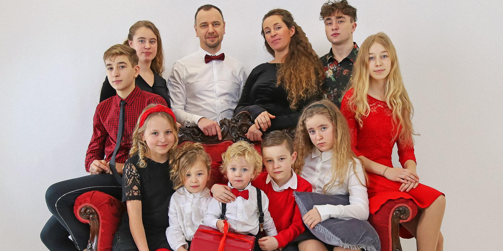 """Мать десятерых детей Марина: """"Не бойтесь вкладывать в себя и детей"""""""