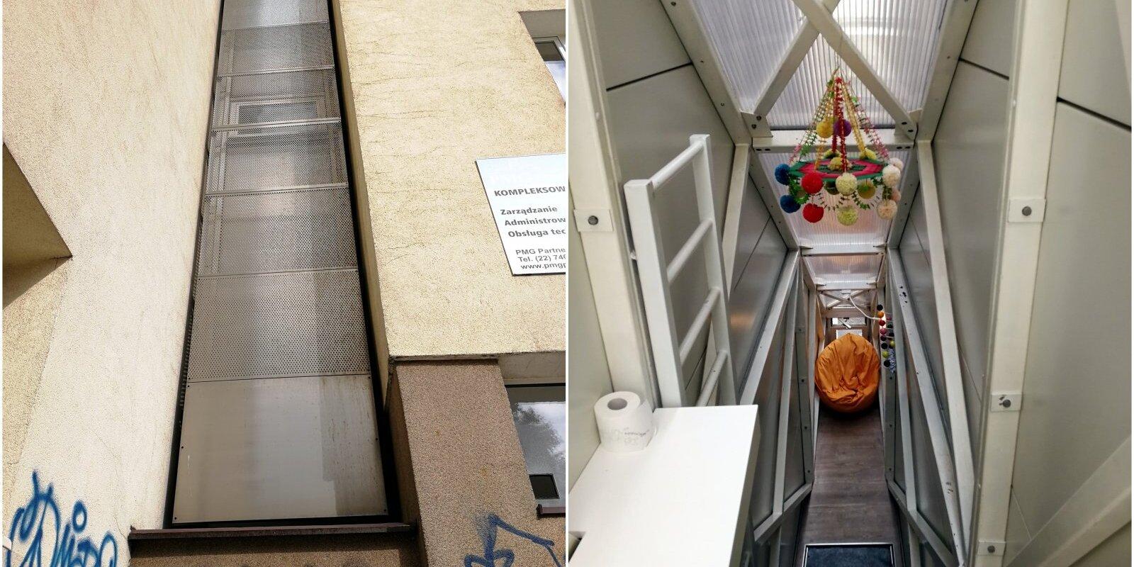 Дом Керета в Варшаве: как дом шириной в метр выглядит изнутри