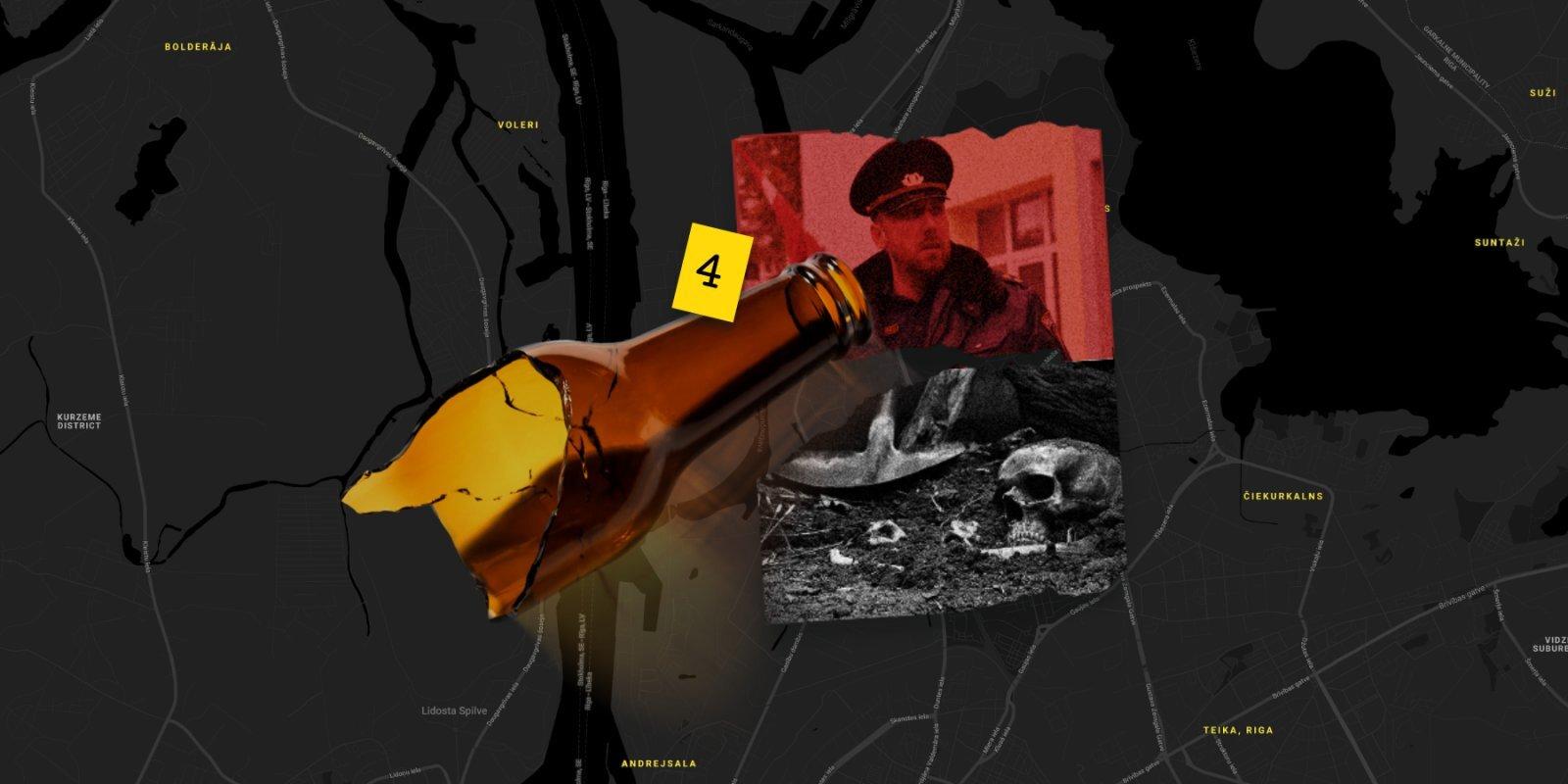 Kapu izlaupītāji un točku filozofija – Sarkandaugavas kriminālā vēsture