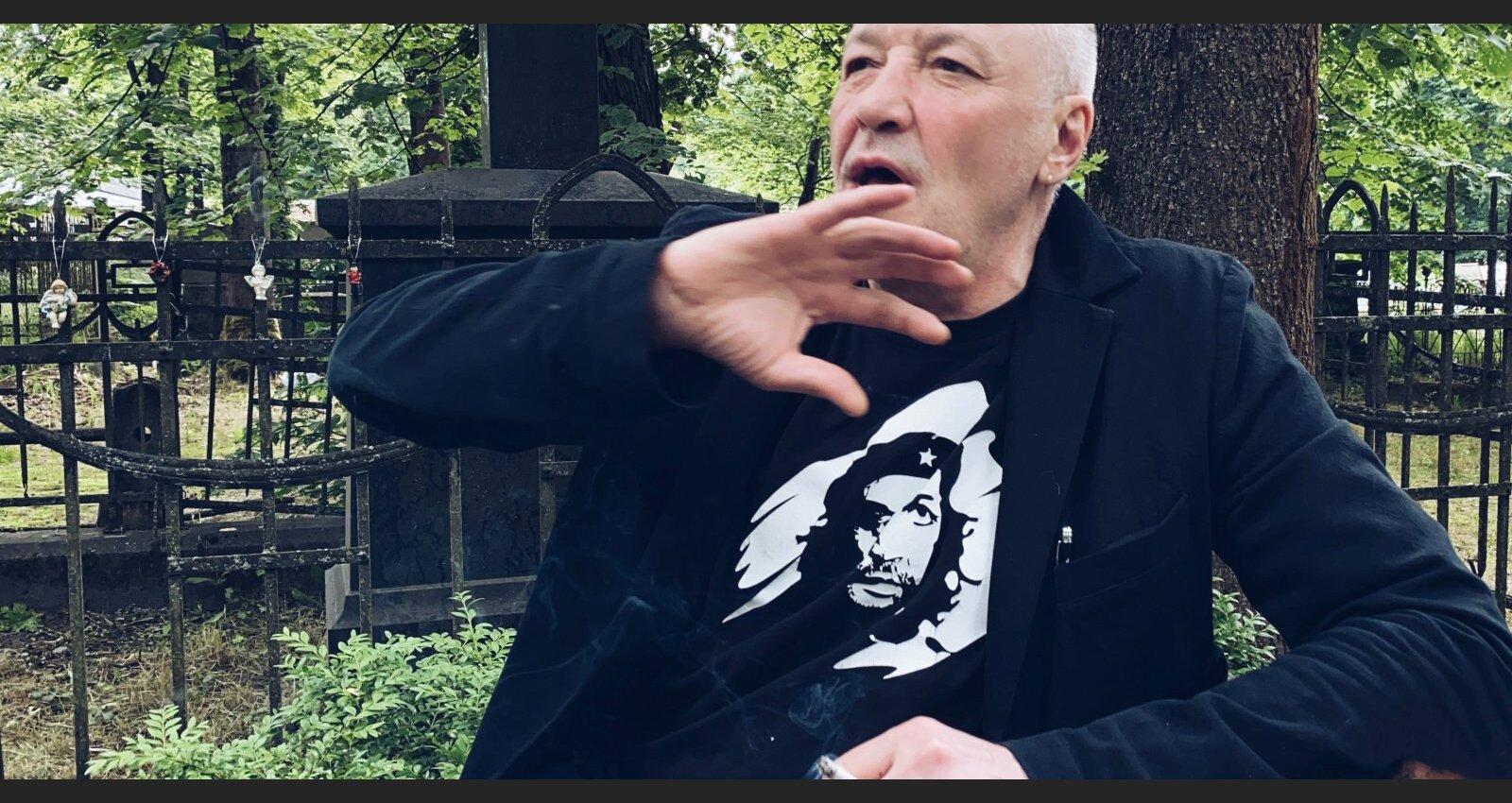 День рождения на кладбище. Андрей Васильев про друга Валеру Рижского и духовного сына Мишу Ефремова
