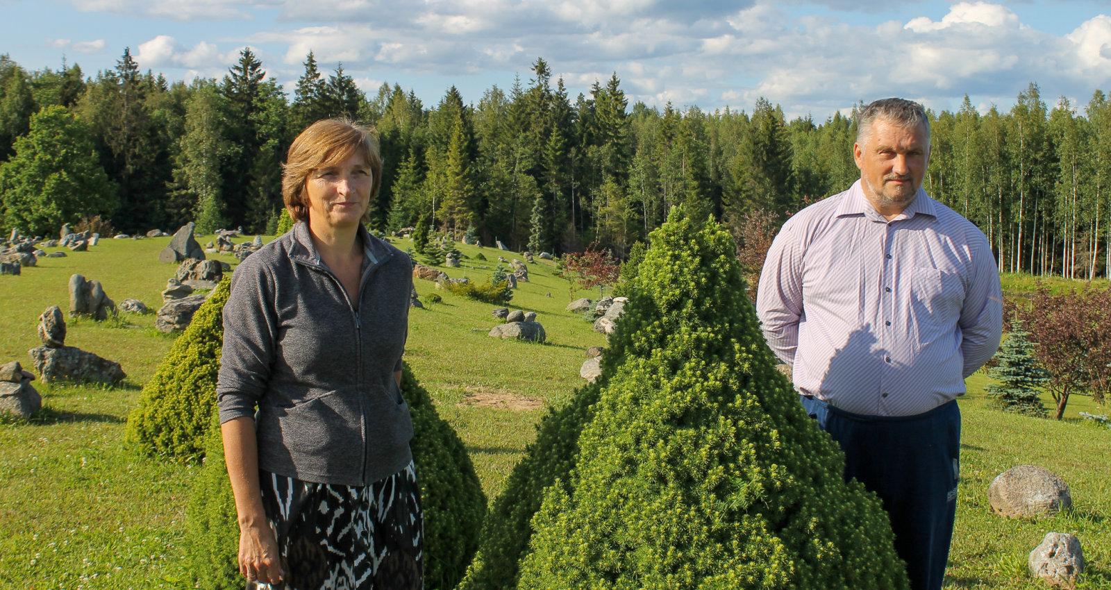"""Маленький латвийский """"стоунхедж"""". Удивительный сад семьи Кашсов"""