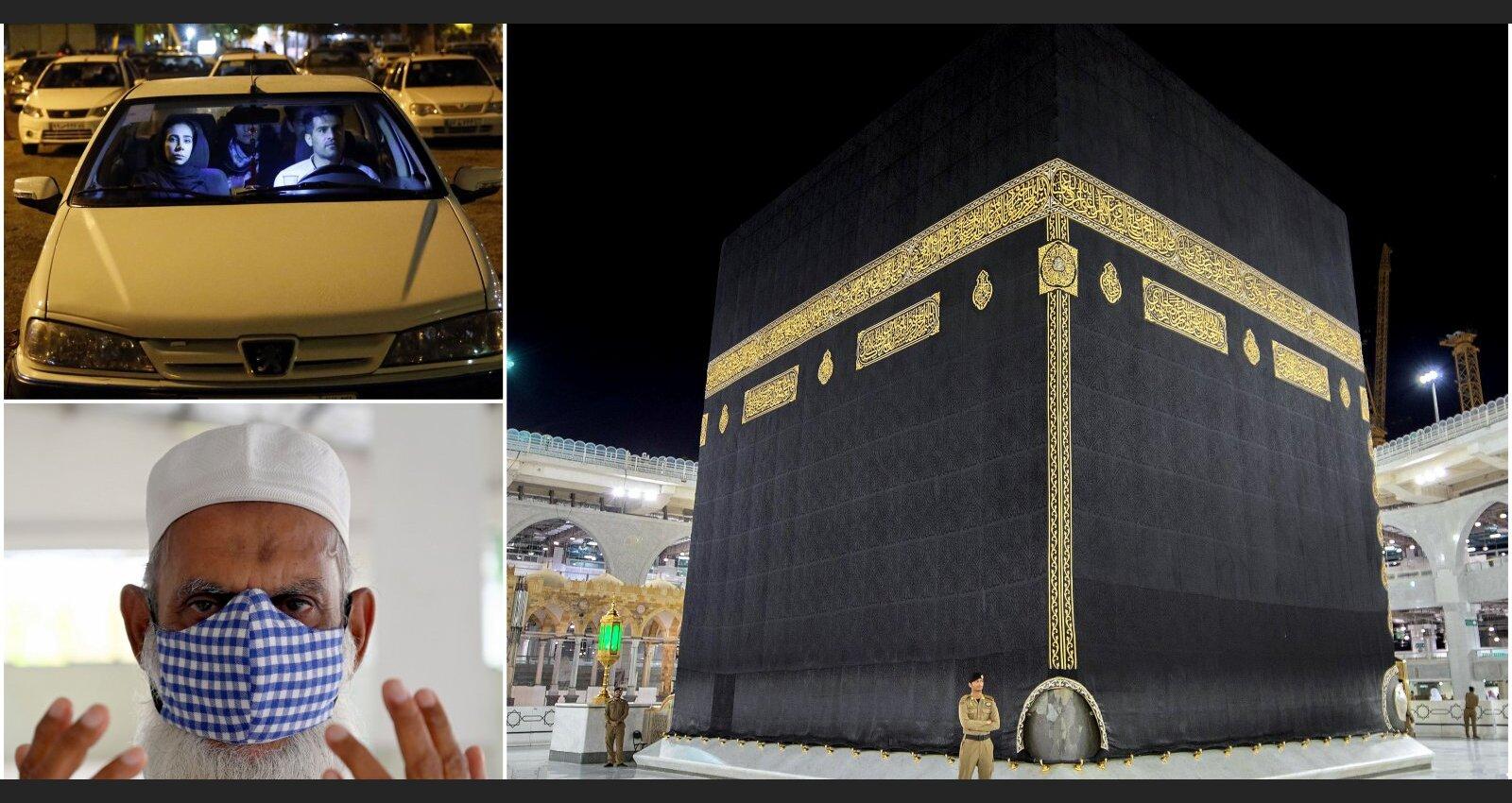 Vientulīgais ramadāns fotogrāfijās – musulmaņi citādi aizvada svēto mēnesi