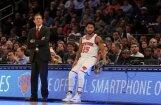 'Knicks' un Porziņģa spēli aizēno neziņa par komandas biedru Rouzu