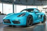 Foto: Rīgā viesojušies 'Porsche' ekskluzīvie auto modeļi