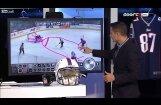 ВИДЕО: Хоккейный эксперт случайно нарисовал в прямом эфире порнографию