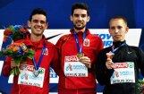 Spānijas soļotāji Eiropas čempionāta 20 kilometru distancē izcīna dubultuzvaru