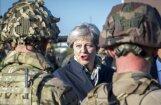 'Mēs aizstāvēsim Eiropu': Meja apliecina skaidru gatavību pretoties Krievijas agresijai