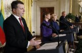 Пресс-конференция в Белом доме: Трамп предложил Вейонису выбрать