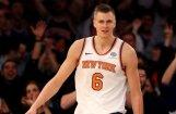 Porziņģis pirmo reizi karjerā atzīts par NBA nedēļas labāko spēlētāju
