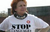 Жданок уверена, что ее не исключат из фракции в Европарламенте