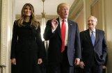 Melānijas Trampas elegance pirmajā reizē Baltajā namā