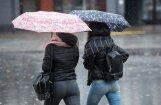 Nākamajā nedēļā bieži līs un dienas kļūs ievērojami vēsākas