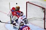 Video: Rīgas 'Dinamo' ielaiž sešus vārtus no šveiciešiem