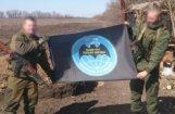 Ukrainas austrumos sagūstīts Krievijas karavīrs