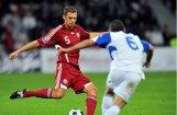 Uz Latvijas futbola izlasi izsauktais Kļava: dēls no priekiem apraudājās