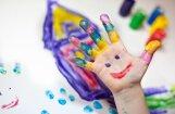 Kā piecās minūtēs pagatavot pirkstiņkrāsas?