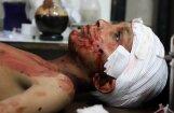 Sīriešu, krievu, libāņu un irāņu aplenktajā Austrumgutā divās nedēļās nogalināti vairāk nekā 1000 cilvēku
