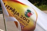 Liepājā svinīgi atklāj III Latvijas Olimpiādi