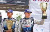 Igaunis Ots Tanaks nosaukts par WRC gada labāko pilotu