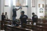 Indonēzijā uzbrucējs ar nazi savaino četrus baznīcas apmeklētājus