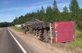 Video: Smagās automašīnas avārija Cirmas pagastā