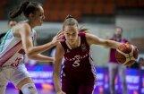 Latvijas U-16 basketbolistes zaudē Ungārijai Eiropas čempionāta pusfinālā
