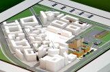 Apturēta darījumu kvartāla 'New Hanza' un Laikmetīgās mākslas muzeja būvniecība