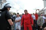 Varšavā gaida ierodamies īpaši agresīvus krievu futbola fanus