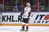 Daugaviņš gūst vārtus KHL spēlē; SKA šosezon pirmo reizi zaudē pamatlaikā