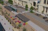 Foto: Par sešiem miljoniem eiro pārbūvēs Centrāltirgus pagrabus un kanālmalu