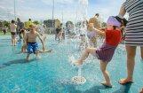 ФОТО: Как выглядит самая большая в Риге детская площадка