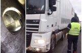 Foto: CSDD reidā numurzīmes noņem arī kravas auto no Krievijas