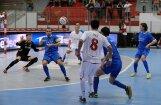 'Nikars ' UEFA telpu futbola kausa izcīņas spēlē pēdējā minūtē izrauj neizšķirtu pret Trebiņes 'Leotar'