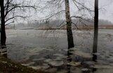 Foto: Vētras 'Fēlikss' briesmu darbi Latvijā