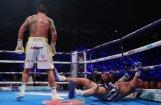 Usiks nokautē Beljū un aizstāv visas prestižās boksa čempionu jostas